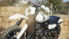 La zona anteriore dell'Harley-Davidson XG750 da Hill Climb
