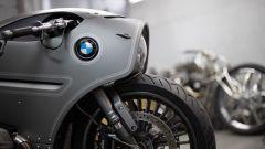 La zona frontale della BMW R nineT Special by Zillers Custom Garage