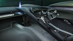L'abitacolo futuristico della Jaguar Vision Gran Turismo