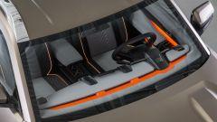 Lada 4x4 Vision Concept: finiture arancioni a vista