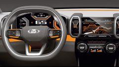 Lada 4x4 Vision Concept: la strumentazione