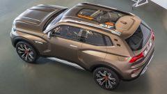 Lada 4x4 Vision Concept: si noti la forma del tetto panoramico