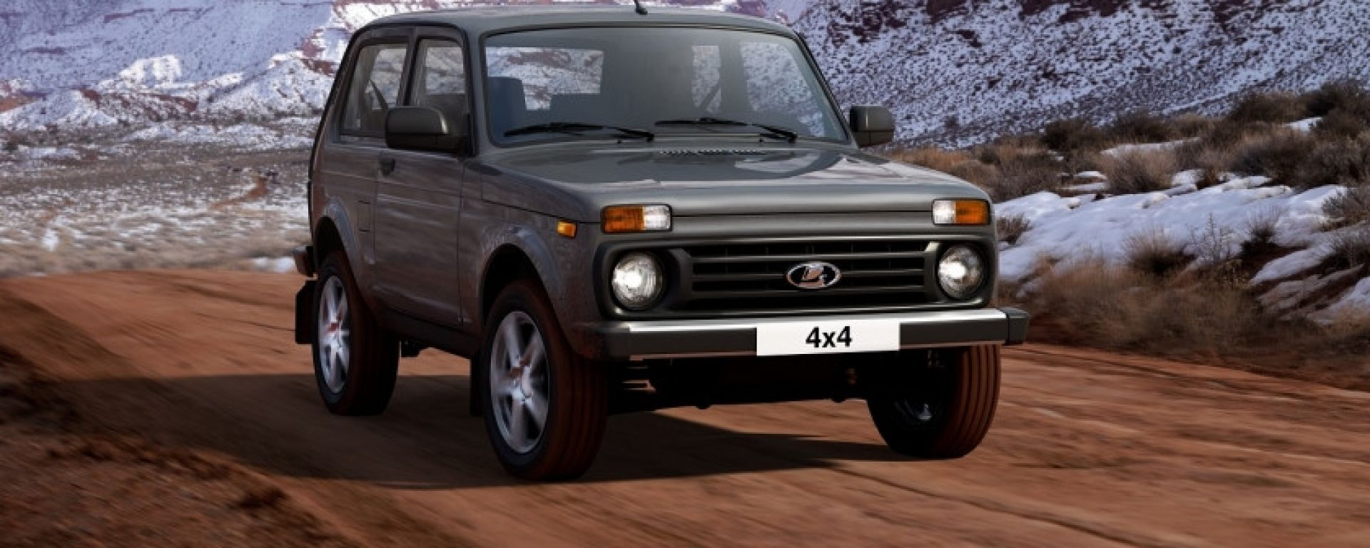 Lada Niva 2020: il restyling