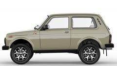 Lada Niva 4x4 40th Anniversary: vista laterale