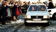 Ford Escort Ghia 1981 di Lady Diana all'asta in UK. Il prezzo
