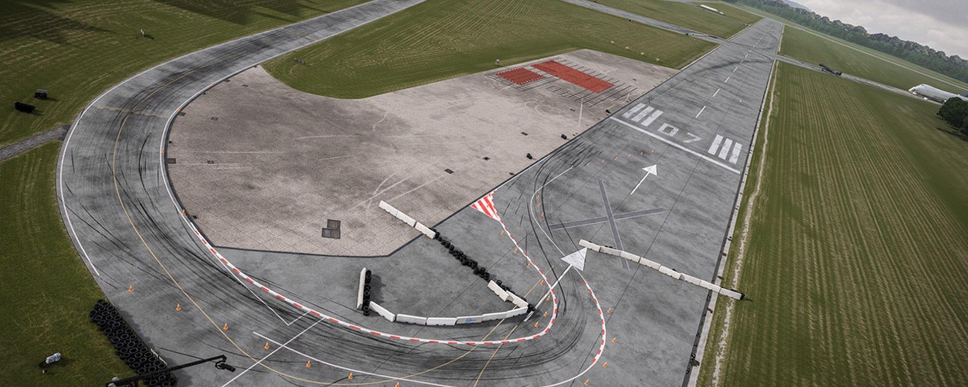L'Aerodrome di Dunsfold di Top Gear è diventato così celebre da essere inserito anche nella serie di videogames di Forza Motorsp