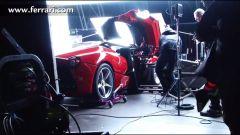 LaFerrari: il backstage del video ufficiale - Immagine: 6