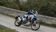 L'Africa Twin Adventure Sports 2020 ha il parabrezza regolabile