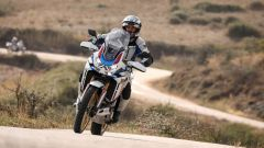 L'Africa Twin Adventure Sports ha le sospensioni elettroniche
