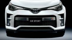L'aggressivo frontale del Toyota C-HR GR Sport 2020