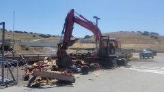 Laguna Seca, lavori in corso