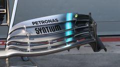 L'ala anteriore della Mercedes W10