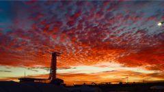 L'alba sul Circuito di Austin