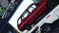 L'Alfa Romeo 33 Sportwagon pronta per essere sistemata