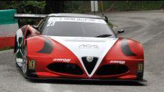 L'Alfa Romeo 4C in gara
