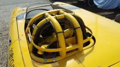 L'Alfa Romeo Spider dei record a Bonneville: dettaglio del rollbar