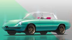 L'Alfa Romeo Spider di Garage Italia e l'hard-top trasparente
