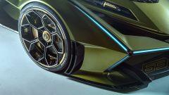 Lambo V12 Vision GT: dettaglio passaruota