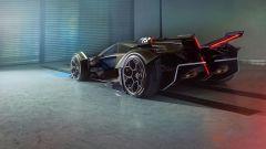 Lambo V12 Vision GT: il posteriore