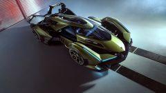 Lambo V12 Vision GT: il tettuccio