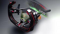 Lambo V12 Vision GT: il volante ipertecnologico