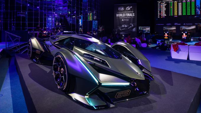 Lambo V12 Vision GT: unveiling di Monte Carlo