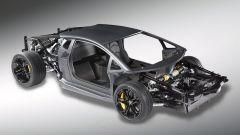 Lamborghini V12: svelato il telaio monoscocca - Immagine: 1