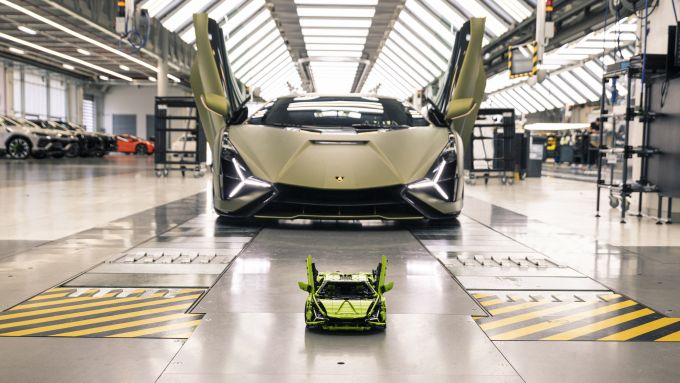 Lamborghini a confronto