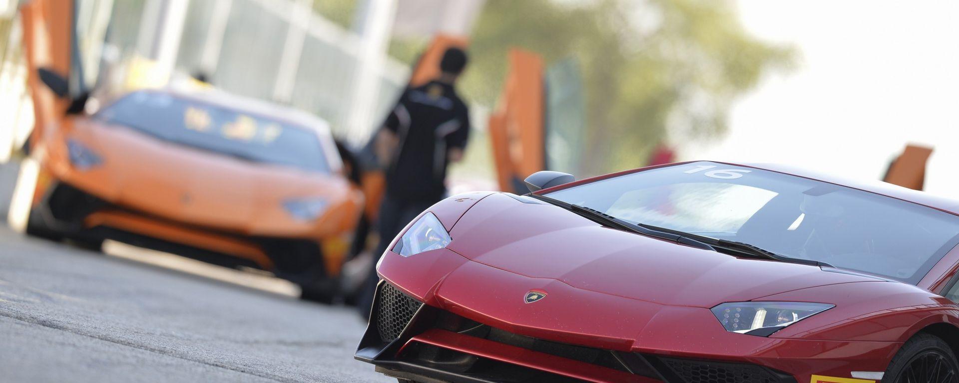 Lamborghini Accademia: in pista con la Aventador SV