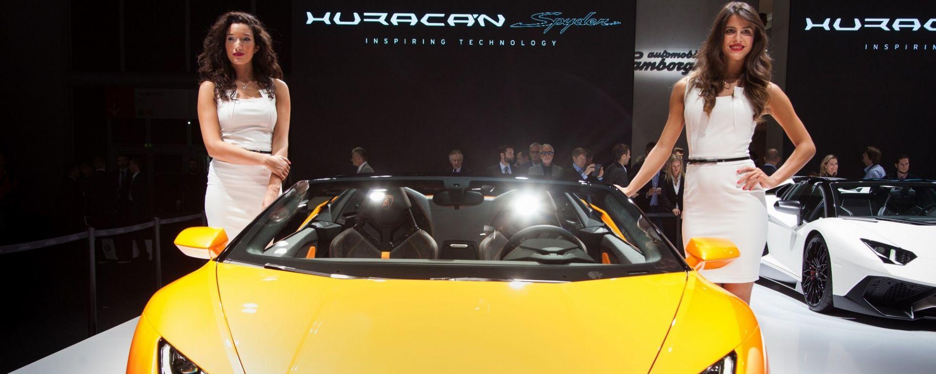 Lamborghini al salone di Francoforte 2017