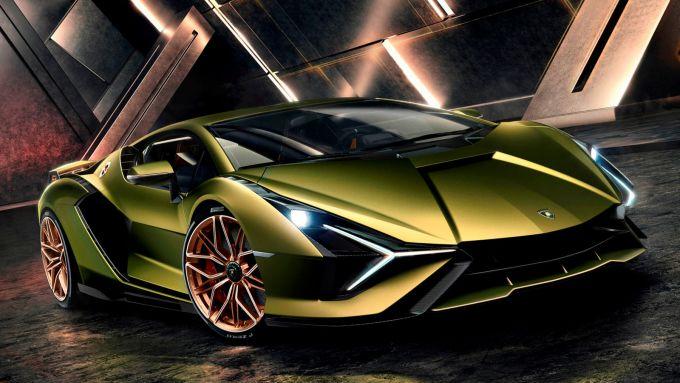 Lamborghini Aventador 2021: la hypercar Sian