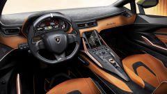 Lamborghini Aventador 2021: l'abitacolo della supercar italiana