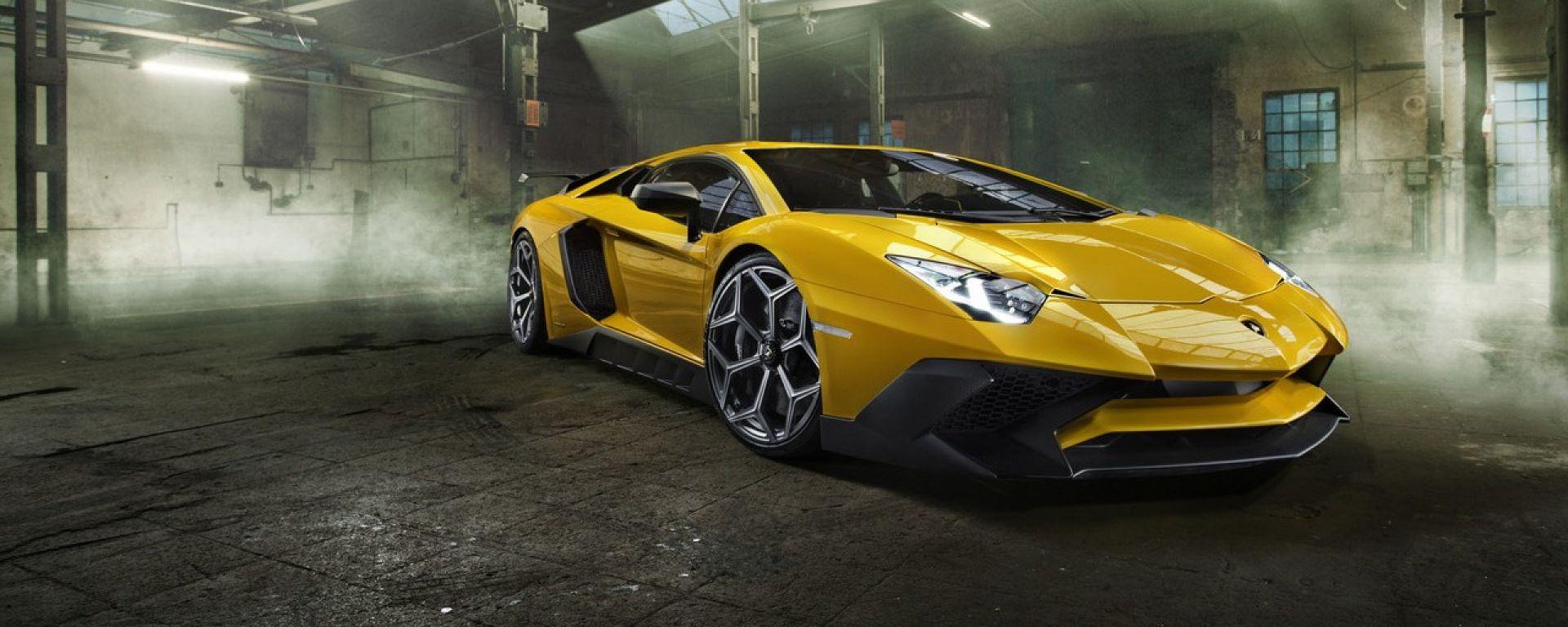 Lamborghini Aventador LP 750-4 SV: upgrade a 786 cavalli. Guarda il video