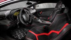 Lamborghini Aventador LP 750-4 SV: Il posto di guida