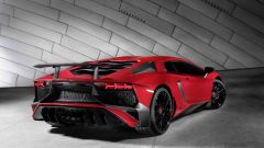Lamborghini Aventador LP 750-4 SV: vista 3/4 posteriore