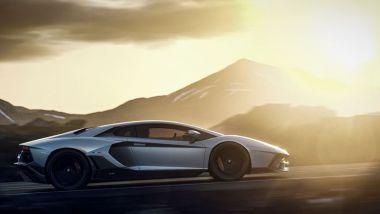 Lamborghini Aventador: monta le sospensioni adattive Magneride
