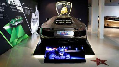 Lamborghini Aventador: quella usata nel film di Batman del 2012