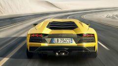 Lamborghini Aventador S: nuovo anche l'estrattore posteriore