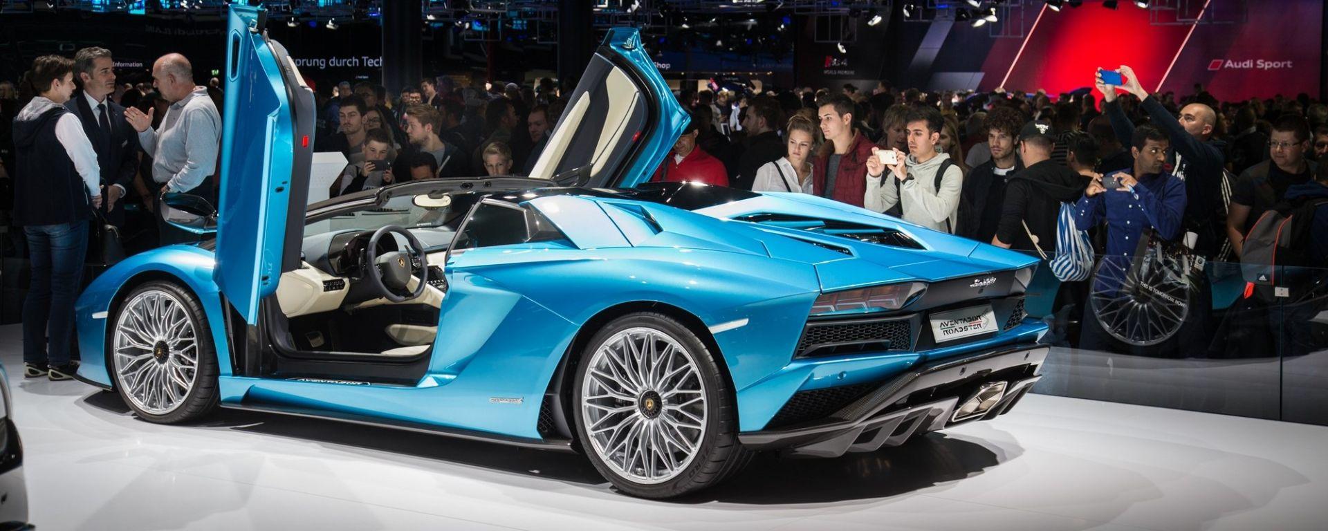 Lamborghini Aventador S Roadster: 740 CV a cielo aperto