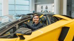 Lamborghini Aventador S Roadster per Paulo Dybala: il campione al volante della fuoriserie