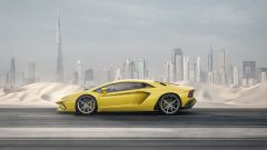 Lamborghini Aventador S: vista laterale