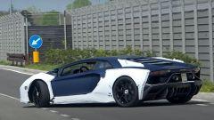 Lamborghini Aventador SJ, strani avvistamenti. Il video spia - Immagine: 4