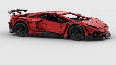 Lamborghini Aventador SV Lego: modello in scala 1:12