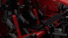 Lamborghini Aventador SV Lego: un dettaglio dei sedili