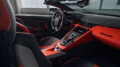 Lamborghini Aventador SVJ 63 Roadster, gli interni