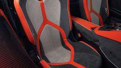 Lamborghini Aventador SVJ 63 Roadster, i sedili visti da vicino