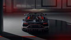 Lamborghini Aventador SVJ 63 Roadster il retro