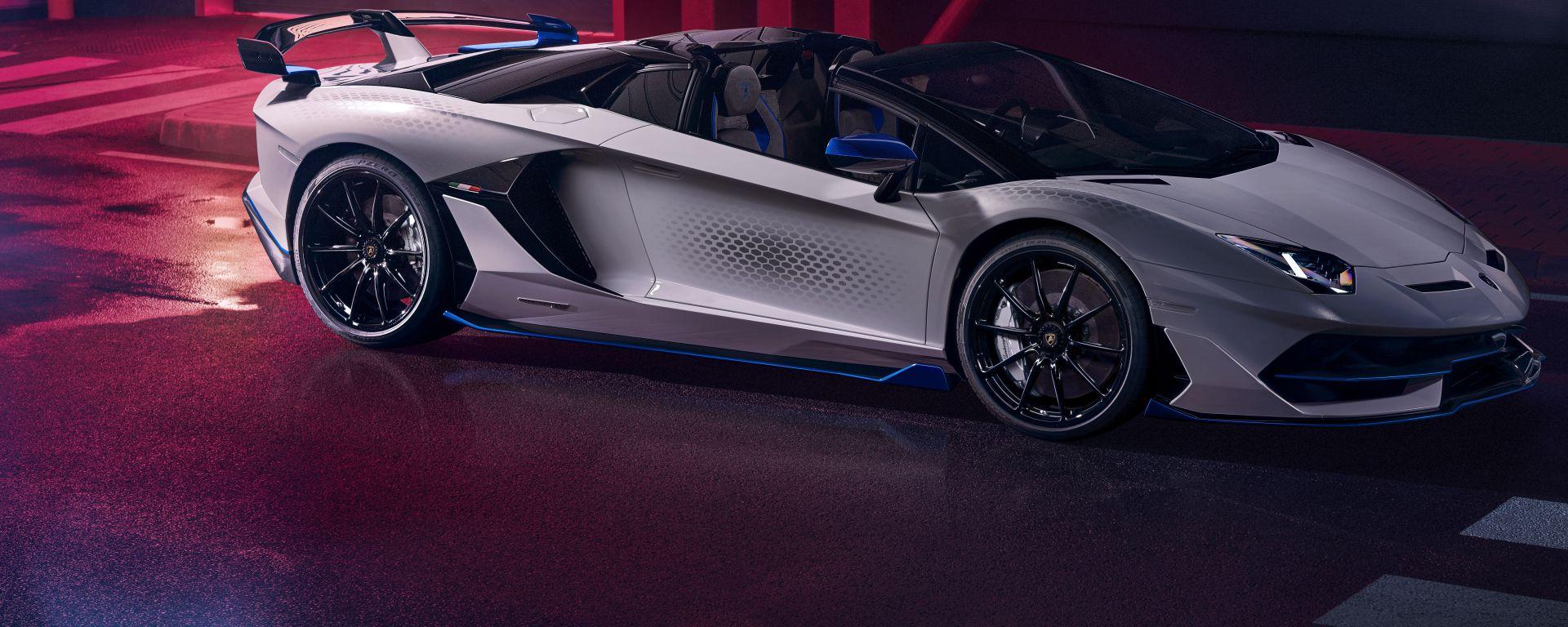 Lamborghini Aventador SVJ Xago Special Edition: il 3/4 anteriore