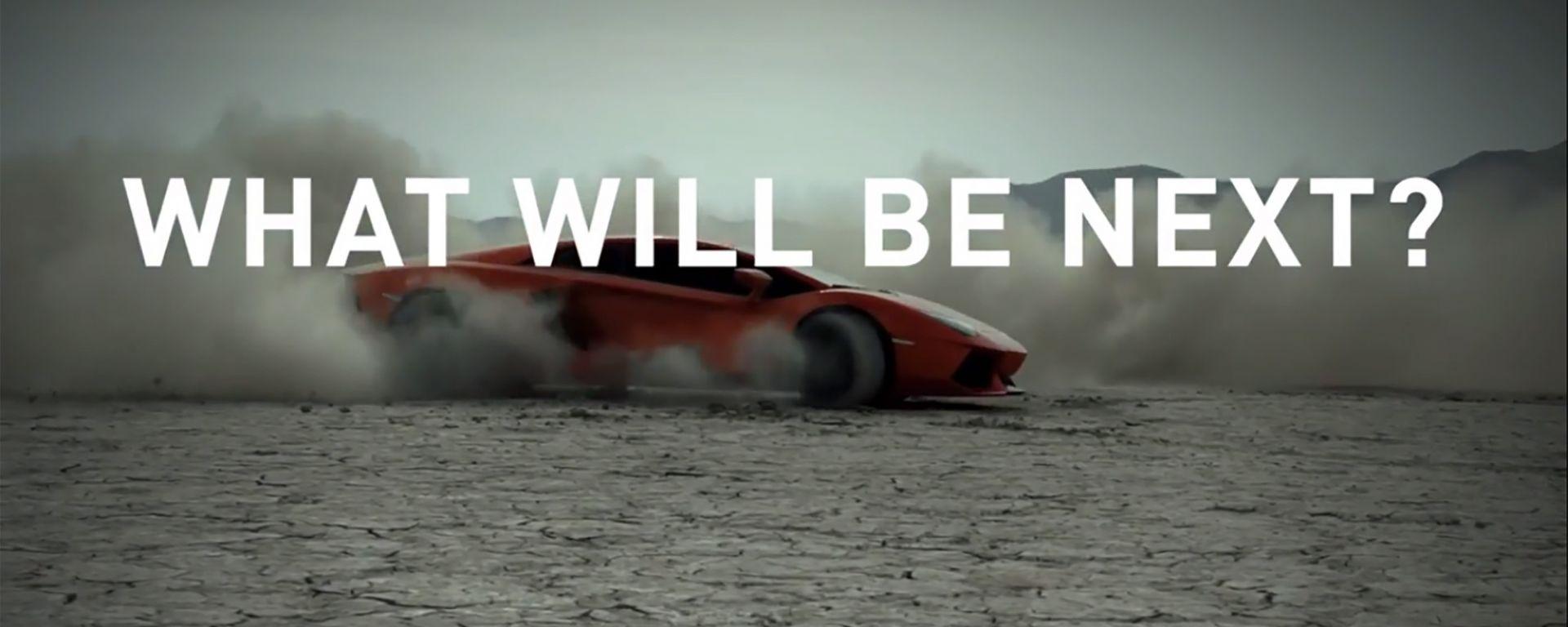 Lamborghini celebra il motore V12 e prepara una novità