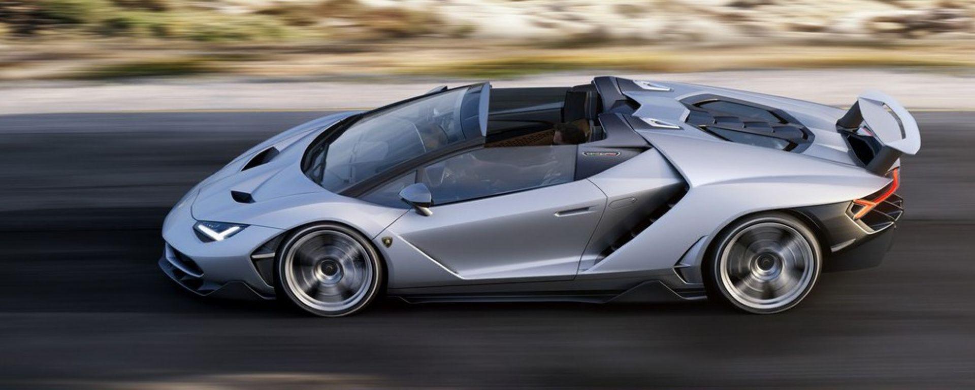Lamborghini Centenario Roadster: 20 esemplari soltanto, tutti già sold out